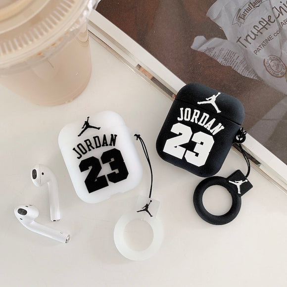 Air Jordan 23 Jumpman AirPods Case w/ Keychain