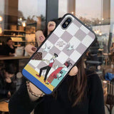 White Louis Vuitton iPhone Case | The Hype Planet