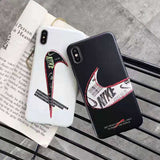 "Nike ""Just Do It"" Designed Logo iPhone Case"