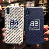 Balenciaga Logo 6 Varients iPhone Case For All Sizes
