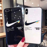 Off-White x Nike Tempered Glass iPhone Case