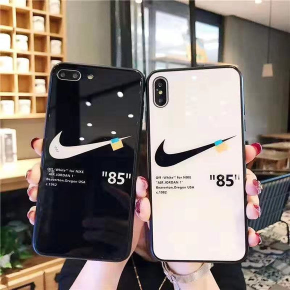 off white nike phone case