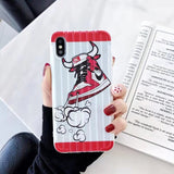 "Nike Red Air Jordan 1 x Off-White ""85"" iPhone Case for iPhone 11 and Other Sizes"