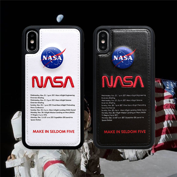 NASA Leather iPhone Case for Hypebeasts | The Hype Planet