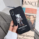Kaws People X X Cartoon Case For All iPhone Sizes