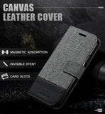 Business Wallet Case For iPhone Case Flip Cover Leather Soft Strap and Cover