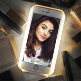 Luminous Glow Phone Case Perfect Selfie Lighting In Pictures For iPhone 6 6s 7 8 Plus X