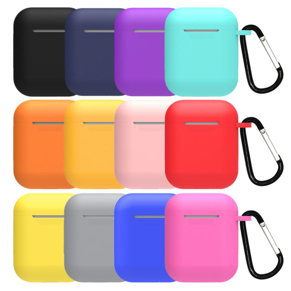 Soft Silicone Multi-Color Case For Apple Airpods 1 and 2