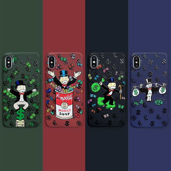 Monopoly Man Money Case For All iPhone Sizes
