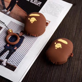 A Bathing Ape Bape AirPods Case For Apple AirPods 1 and 2
