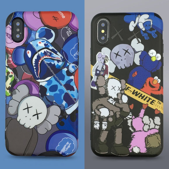 Hypebeast Phone Cases For Off-White, Kaws, Bape | The Hype Planet