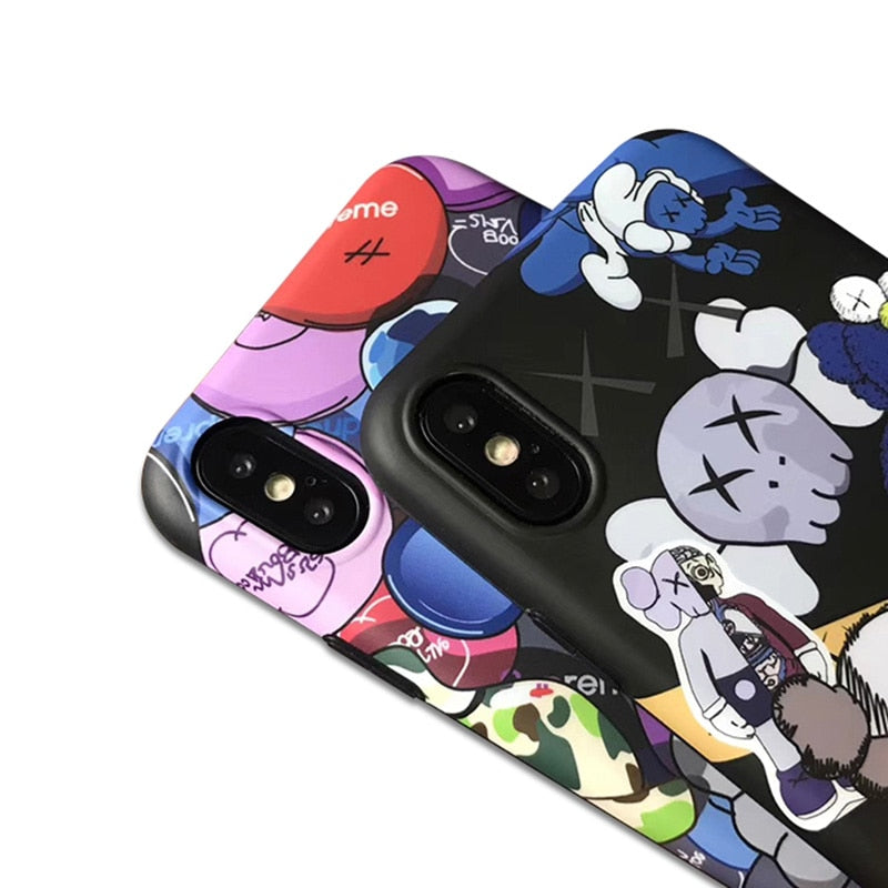 Hypebeast Phone Cases For Off White Kaws Bape The Hype Planet