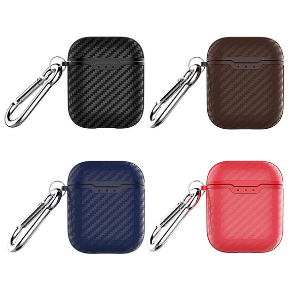 High Quality Carbon Fiber Apple AirPod Cases for AirPods 1 and 2