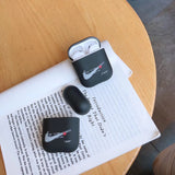 Off-White x Nike Stitched Logo AirPods Case For Apple AirPods 1 and 2