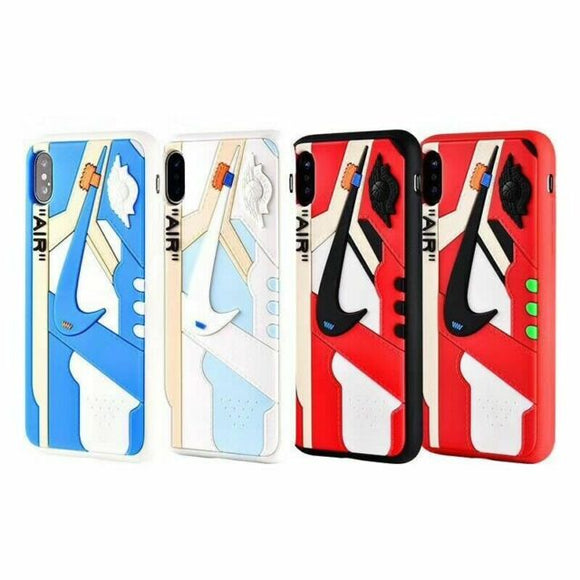 Off-White x Nike Air Jordan 1 Shoe Designed iPhone Case All Sizes
