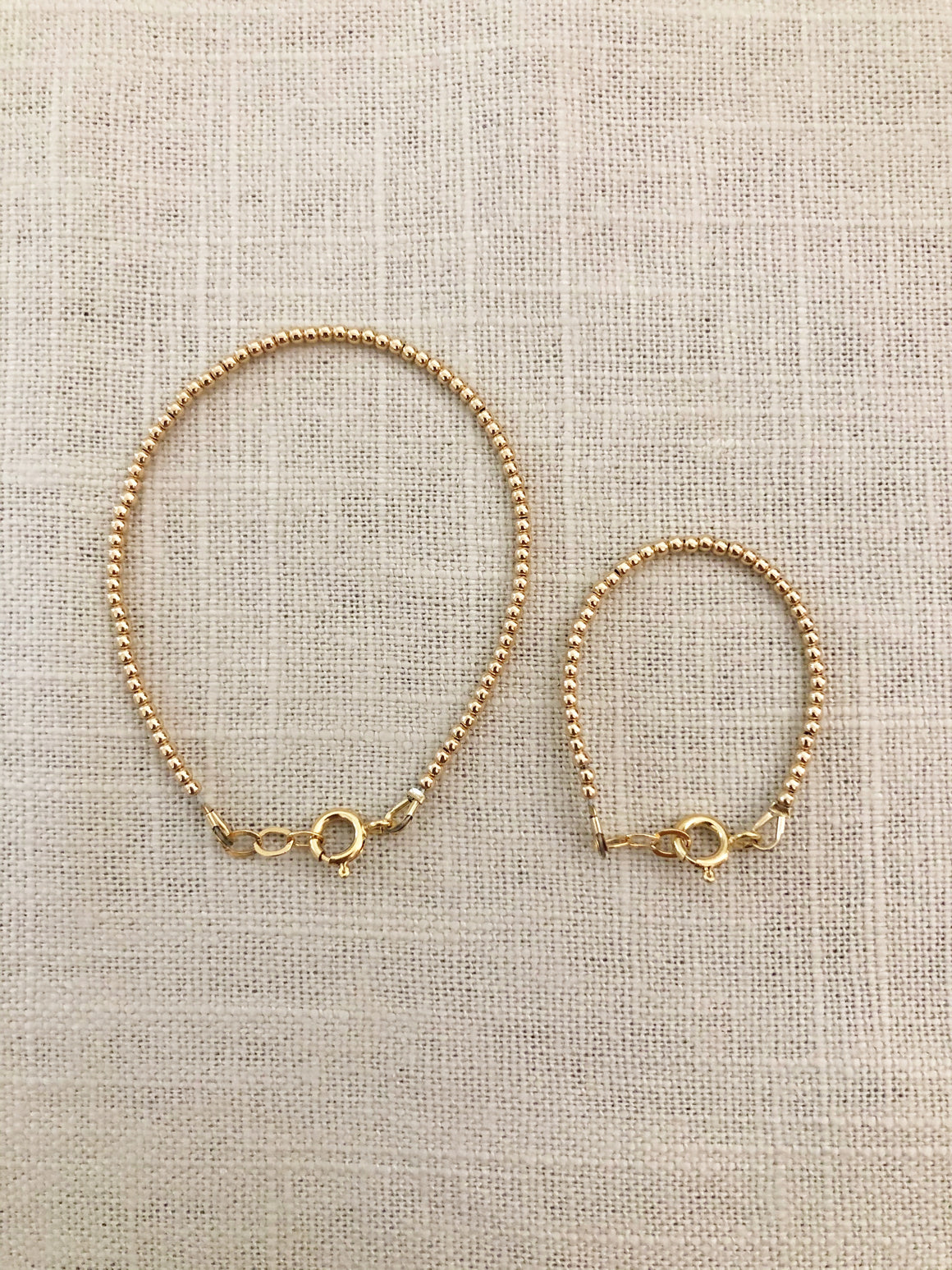 Mommy + Me Goldie 2mm Set