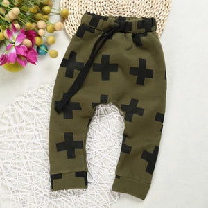 Criss-Cross Jogging Pants