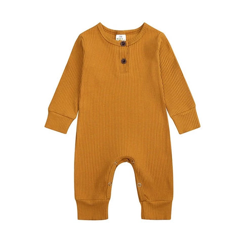 Logan Unisex One Piece - Mustard