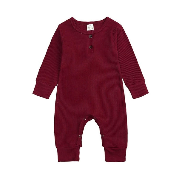 Logan Unisex One Piece - Burgundy