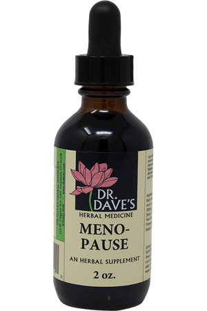 Meno-Pause Dr. Daves Herbal Medicine
