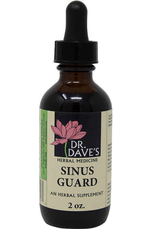 Sinus Guard - Dr Daves Herbal Medicine - Allergy Prevention