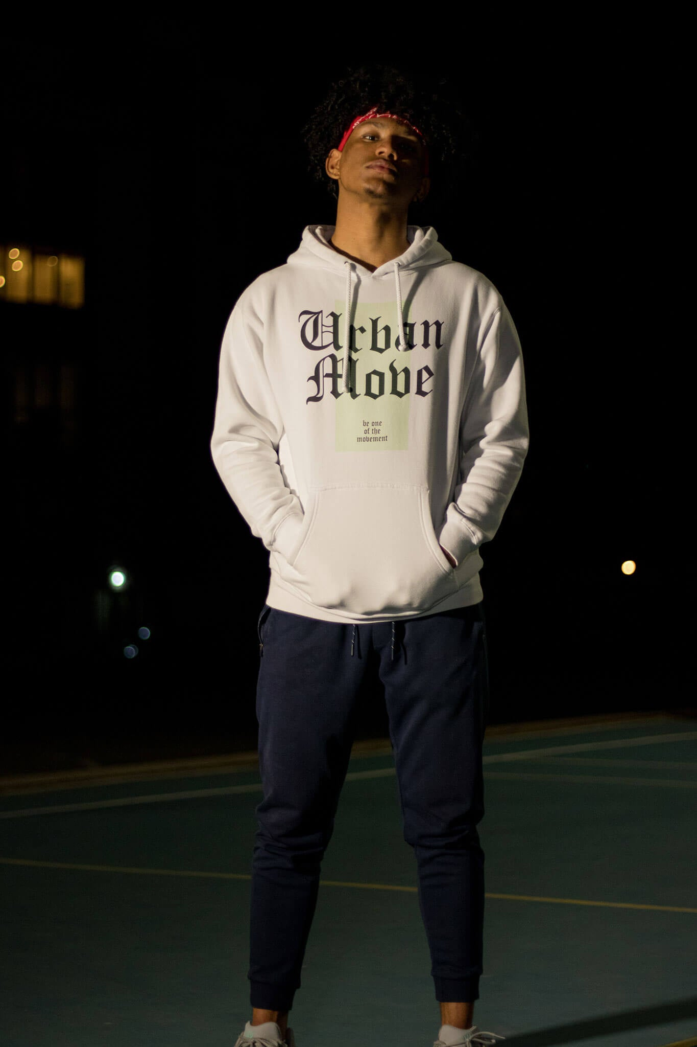 Urban Move, Streetwear, Heavyweight Hoodie