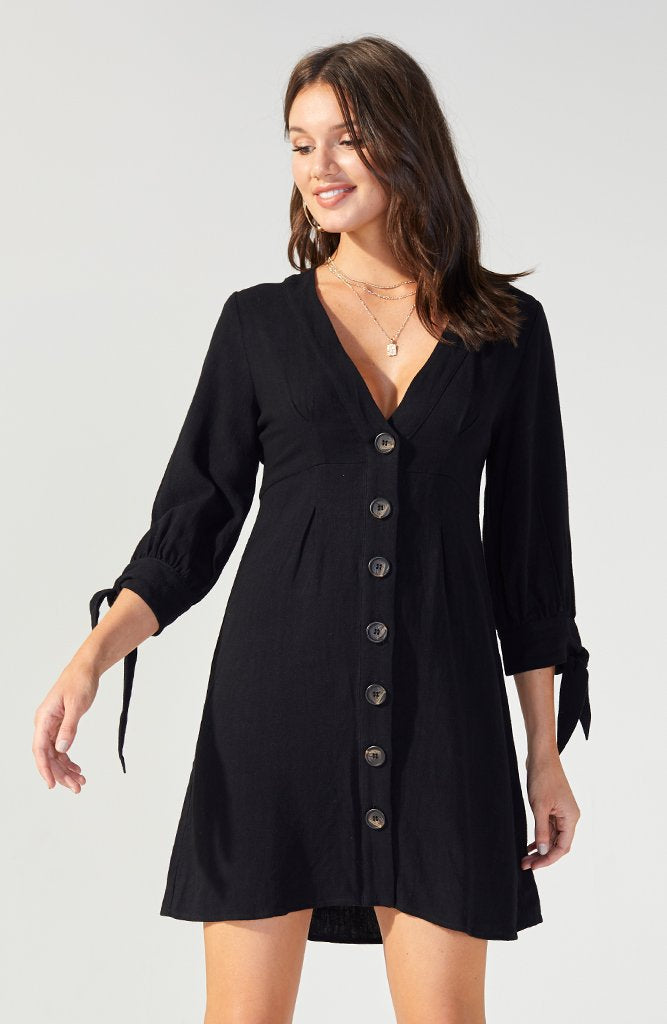 Mindful Long Sleeve Mini Dress