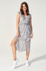 Heroine Check Midi Dress (3607899275357)