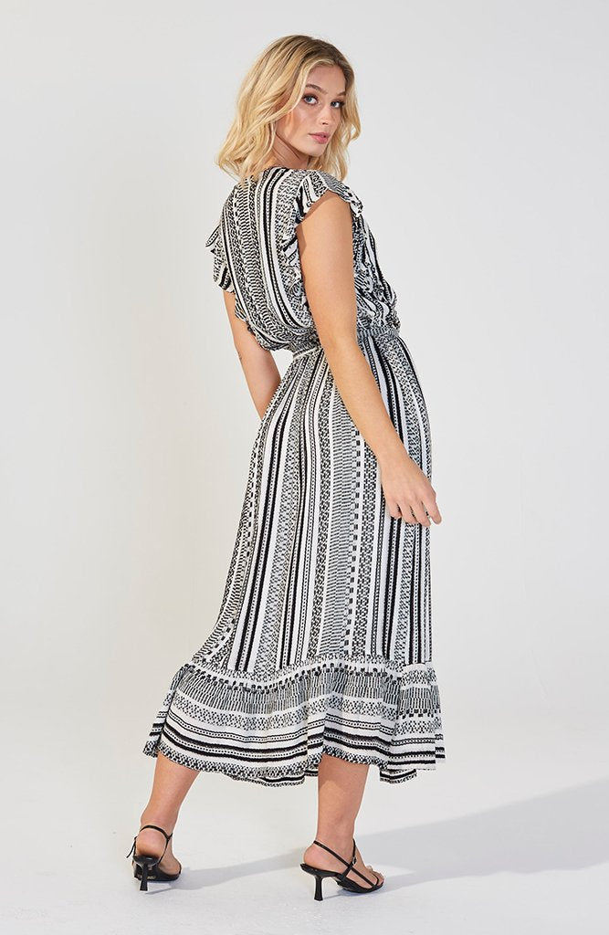 Heavenly Touch Midi Dress (4384725205085)
