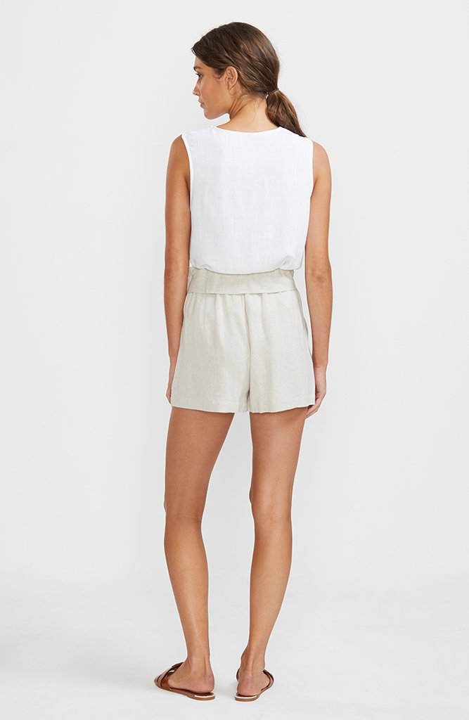 Wander Tie Front Shorts