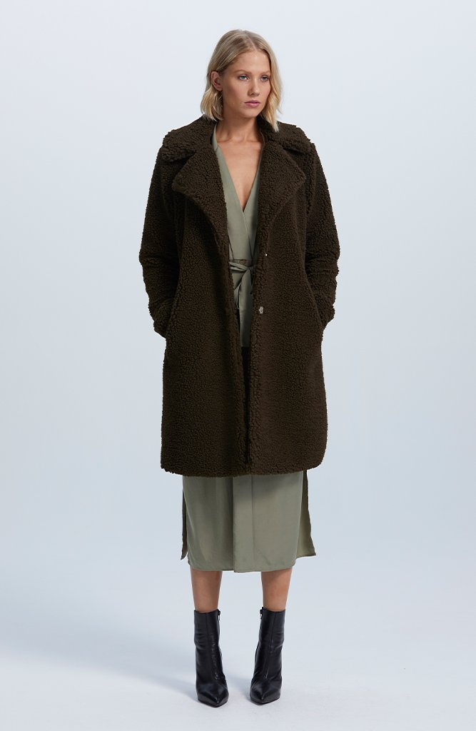 Jada Shearling Coat