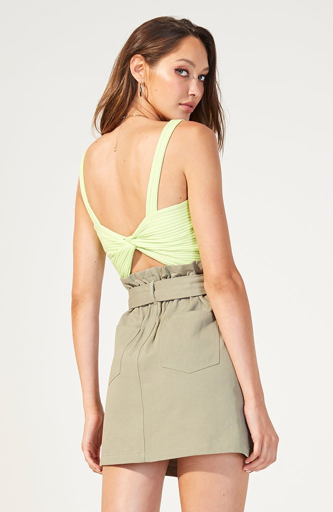Citrumelo Twist Back Top (3758690697309)
