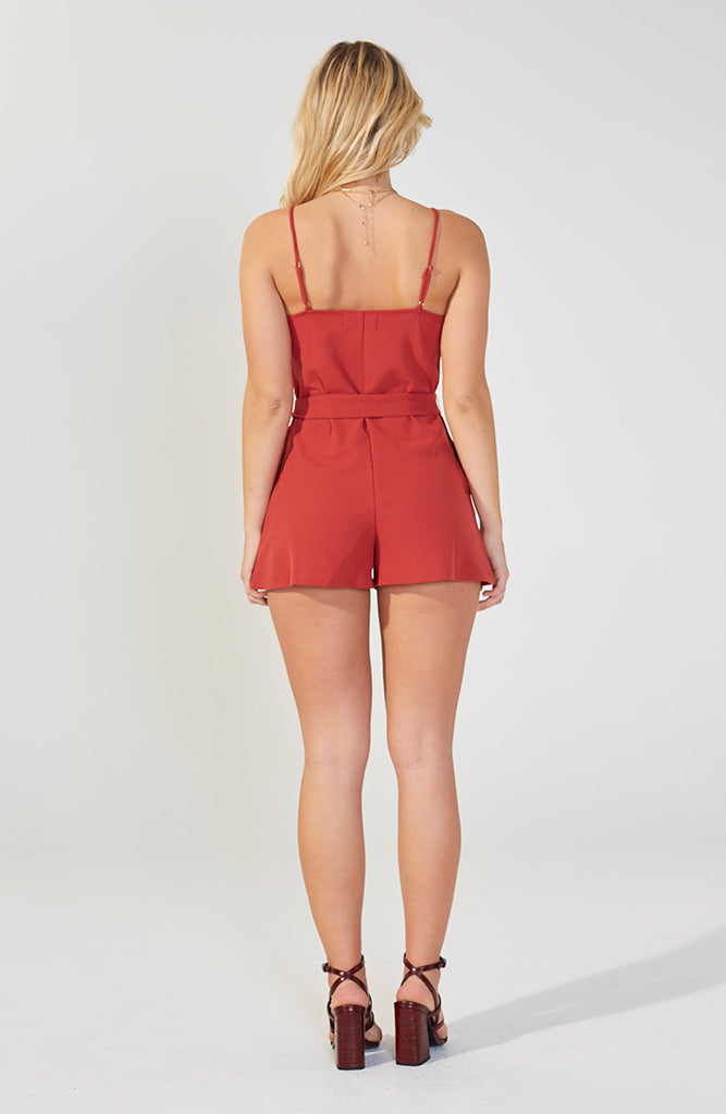Bobbi Cut Sew Playsuit