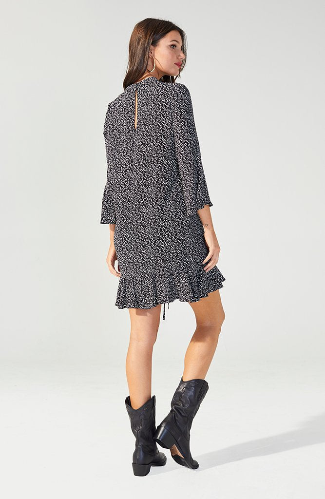 Perpetual Ruched Mini Dress (3557174411357)