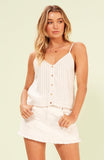 Harvie Button Up Cami