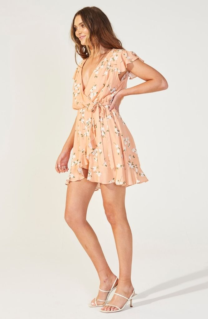 Redbloom Mini Dress
