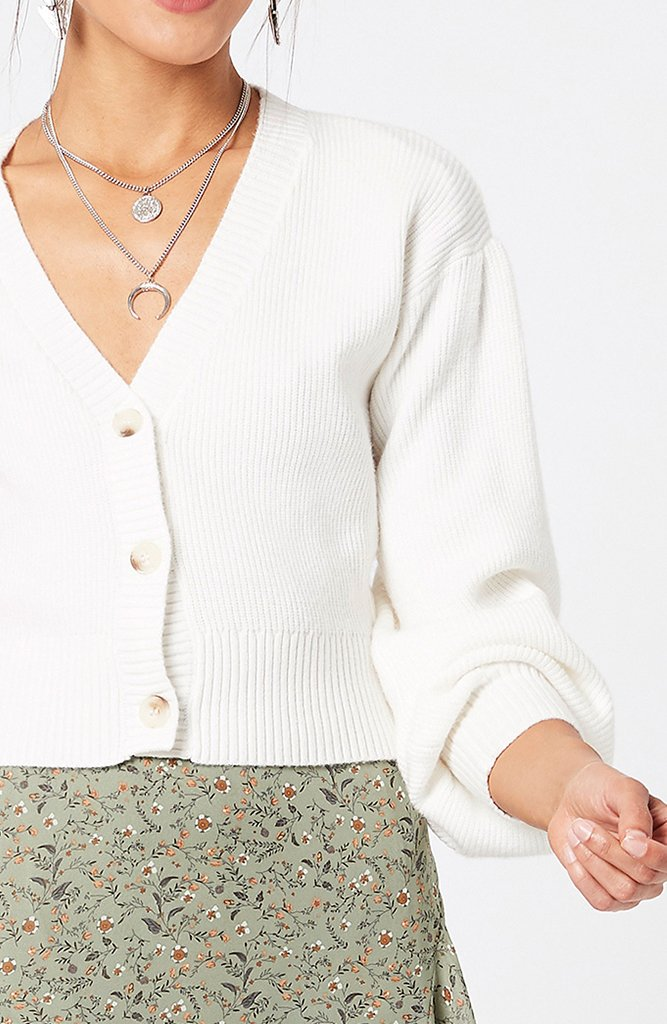 Courtney Puff Sleeve Cardigan