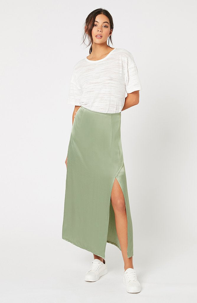 Sun Catcher Satin Skirt (4551571963997)