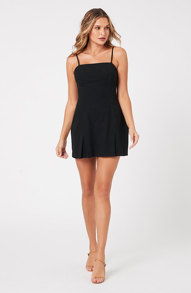 City Of Stars Mini Dress (4384725106781)