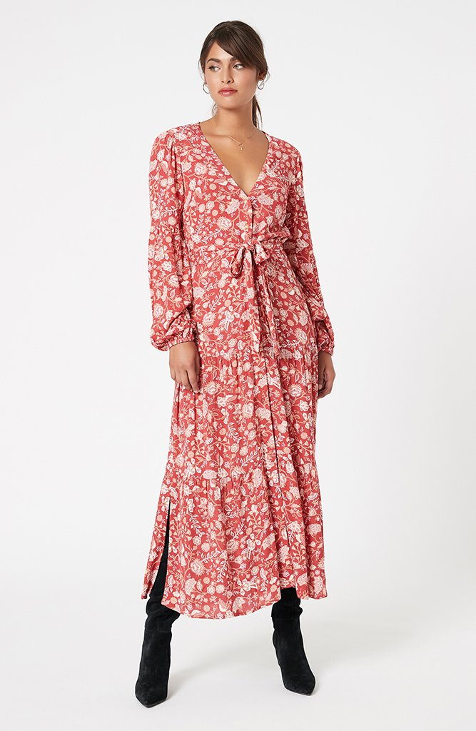 Sunray Chintz Midi Dress