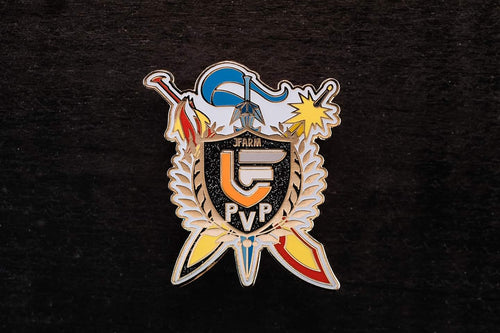 JFarm PVP GITD Badge