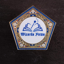 Load image into Gallery viewer, Wizards News GITD Badge