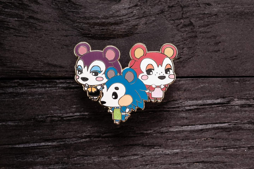 Chibi Animal Island Pins