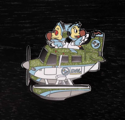 Flying Dodo Brothers Pin