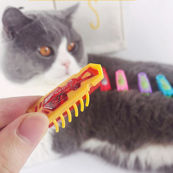 [MPK] Powered Fast Moving Micro Robotic Bug Toy For Entertaining Your Pets, Cats-Go-Crazy Toys, Cat Toy