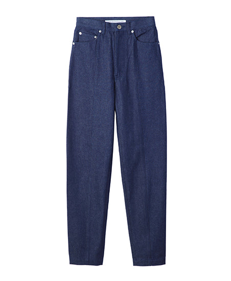 WOMENS CENTER SEAM DENIM PANTS / INDIGO