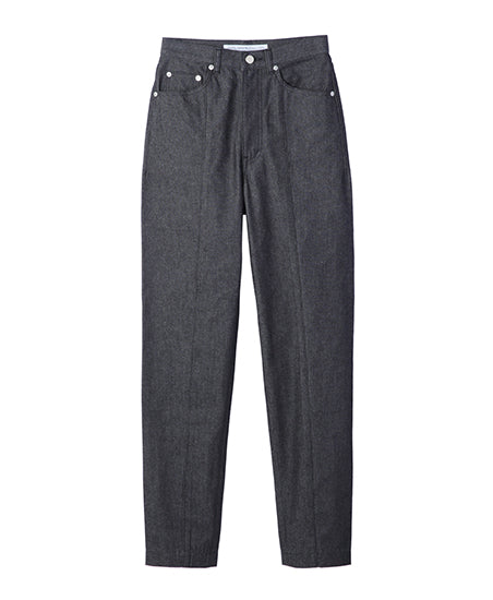 WOMENS CENTER SEAM DENIM PANTS / BLACK