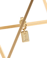SQUARE PIERCE / GOLD