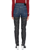 WOMENS COMBINATION DENIM PANTS