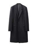 CHESTERFEILD COAT / BLACK